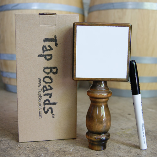 Whiteboard Tap Handle - Walnut - Click Image to Close