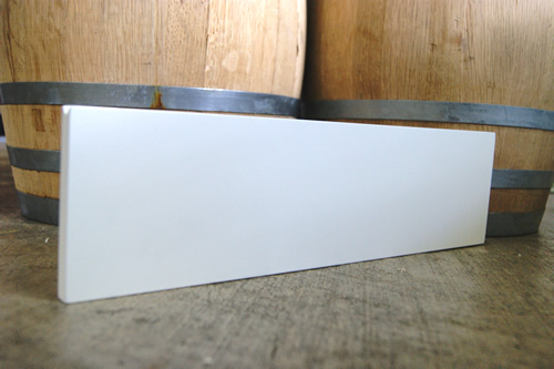 Dry Erase Plank Menu Board (White)